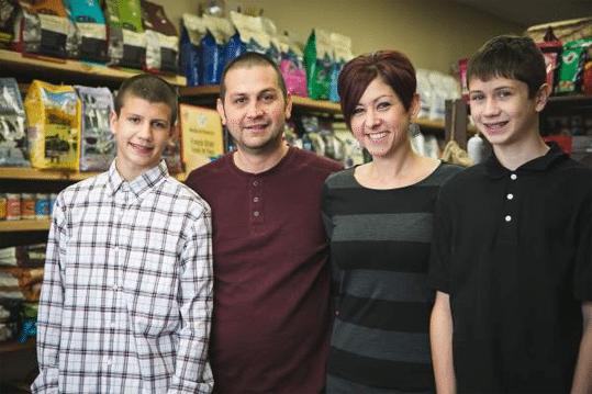 meet the diederich family